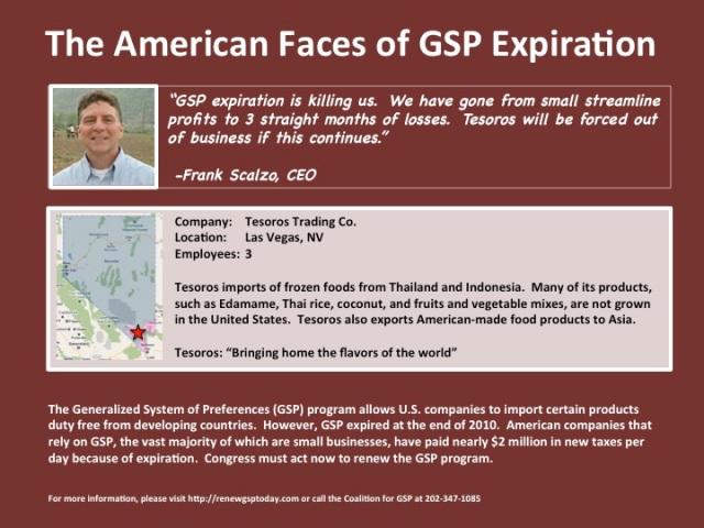 American Faces of GSP Expiration: Tesoros Trading in Nevada